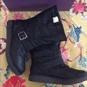 Blowfish Shoes - Blowfish Earl Black Relax Boots
