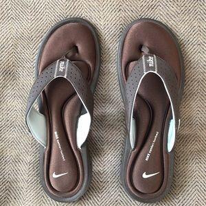 Nike Shoes - Nike Memory Foam Flip Flops