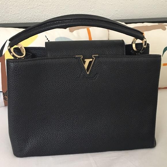 428d2becbe94c Louis Vuitton Handbags - Louis Vuitton Taurillon Capucines MM Handbag Used