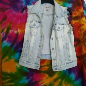 Arizona Jean Company Jackets & Blazers - Jean Vest