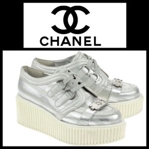 CHANEL Shoes - 👠CLOSET CLEAR OUT👠HOST PICK Chanel Creepers s 6