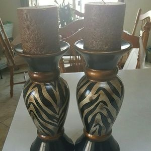 Other - 2 candle statues