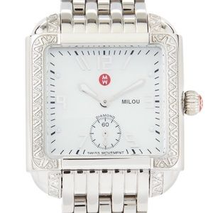 Michele Accessories - Diamond Michele Milou Watch 100% Authentic