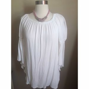 new directions Tops - MAKE OFFER! White Boho Top