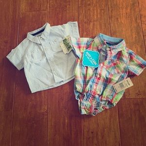 Andy & Evan Other - 🆕NWT Two piece boys summer bundle, 3-6m