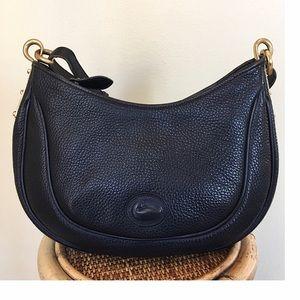 Dooney & Bourke Handbags - VINTAGE DOONEY AND BOURKE SM CRESCENT SAC