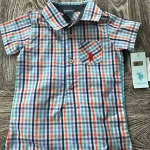 U.S. Polo Assn. Other - U.S Polo Assn. baby boy romper 18 month