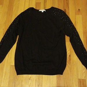 Amie et moi Sweaters - Amie Et Moi Studded Sweater