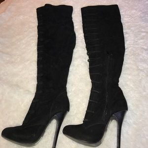 Bakers Shoes - Thigh high boots