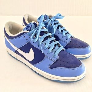 Nike Other - 2005 Nike Dunk Lo//Baby Blue + Navy + White