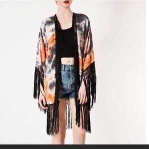 Topshop Other - Tie dye vintage topshop kimono