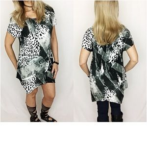 Dresses & Skirts - Wild Soft Stretchy Flowy Tunic Top Dress SMLXL