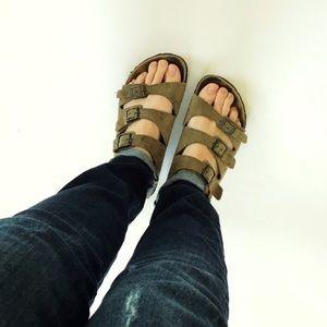 Birkenstock Shoes - Birkenstock 3 Strap Sandals