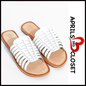BC Footwear Shoes - Huarache Leather Sandals