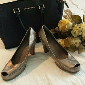 A2 by Aerosoles Shoes - A2 by Aerosoles Bronze Heel 10M Big Ben