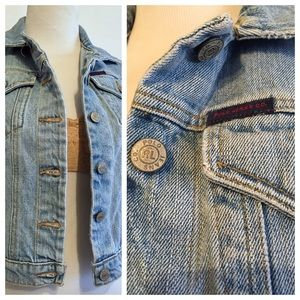Early 90's Denim Vest by Polo Ralph Lauren, S