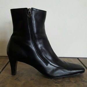 Etienne Aigner Shoes - Etienne Aigner Leather Ankle Boot