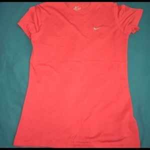 Nike Tops - Dri-fit Nike Pink Short Sleeve