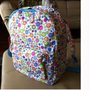 Handbags - Cutest Backpack Dotty White