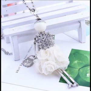 Boutique Jewelry - Lady in White Pendant