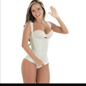 Latex Trainer Shapewear Workout Waist Cincher Vest