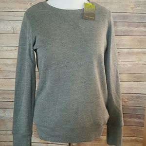 tek gear Tops - Super Soft Gray NEW Lightweight Sweatshirt Large