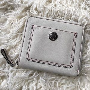 COACH Leather Zip Wallet