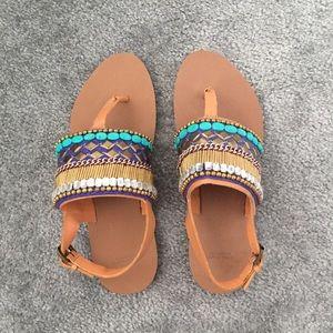 Zara tribal inspired sandals