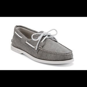 Sperry Top-Sider Other - Mens grey canvas sperry top siders