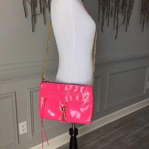 Rebecca Minkoff Handbags - Rebecca Minkoff- Pink Patent Leather Crossbody