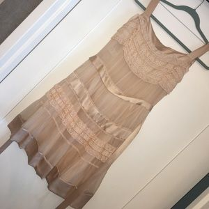 Philosophy di Alberta Ferretti Dresses & Skirts - Philosophy di Alberta Ferretti blush silk dress