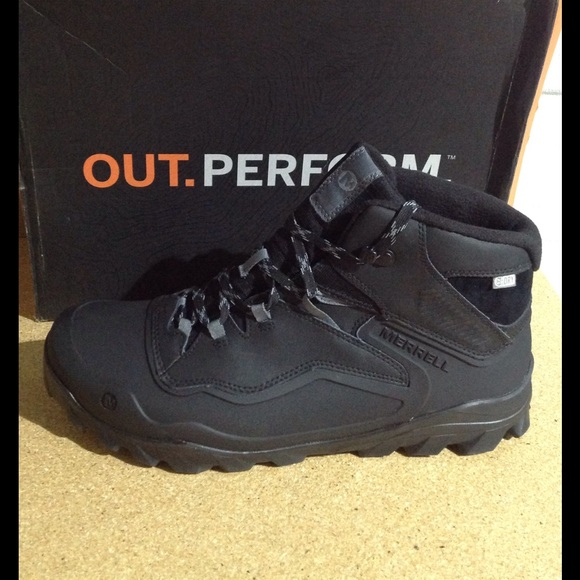 8e2844e18df Merrell Men's Overlook 6 Ice Plus Waterproof Boots NWT