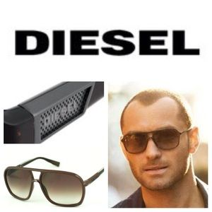 Diesel Other - AUTHENTIC Diesel 0219 Aviator sunglasses in bronze