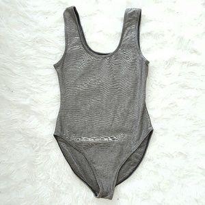 Mariea Other - Gray bodysuit