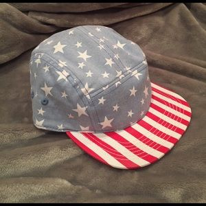 Accessories - Stars & Stripes 5 Panel SnapBack