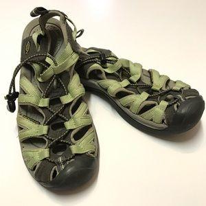 Keen Shoes - Keen Green Waterproof Hiking Shoes
