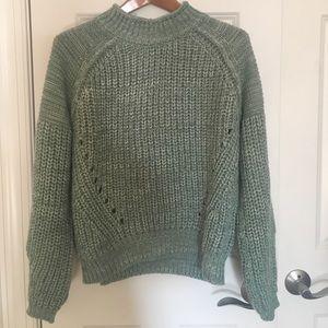valette Sweaters - Green knit sweater