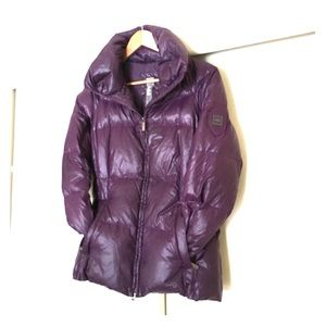 Add Down Jackets & Blazers - ADD down womans purple coat
