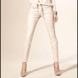 Current/Elliott Denim - Current / Elliot The Stiletto Jeans - Dusty Peach