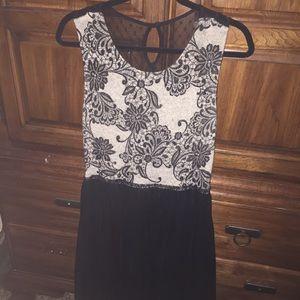 Anthropologie Weston Wear Black Tulle Dress