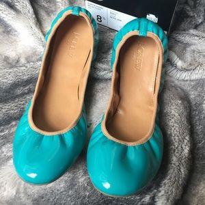 J. Crew Factory Shoes - J. Crew Factory Suzette Patent Ballet Flats