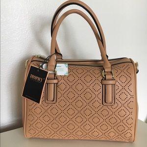 New brown handbag