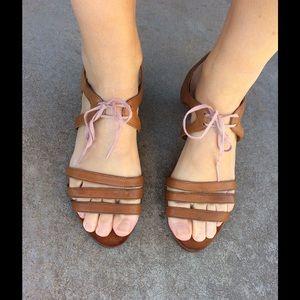 Camper Shoes - CAMPER LOW heel strappy sandals 39 9