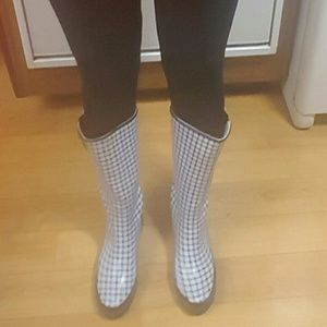 Sperry Top-sider Plaid Rain Boots