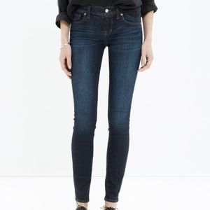 Madewell Skinny Skinny for Waterfall Wash Size 24