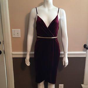 Ark & Co Dresses & Skirts - Ark & Co red velvet dress