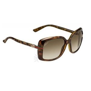 Gucci Sunglasses with Case GG3188 Havana Brown