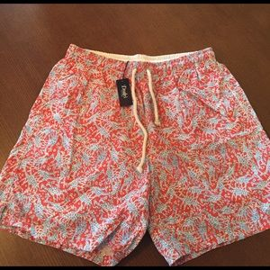 Drakes Other - Drake's Men's Giraffe Swim Trunks
