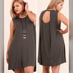 Dresses & Skirts - 💣PLUS💣NEW💣The Lili Keyhole Dress-Ash