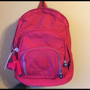 Kipling Handbags - NWT Kipling Harper cayenne backpack/book bag